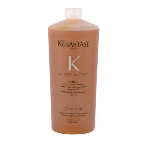 Kerastase Elixir Ultime Le Bain 1000ml - Hydrating Shampoo