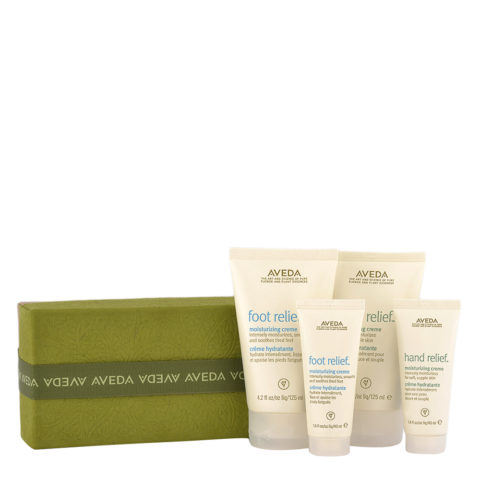 Aveda Bodycare Kit A Gift of Renewal - hand and foot cream