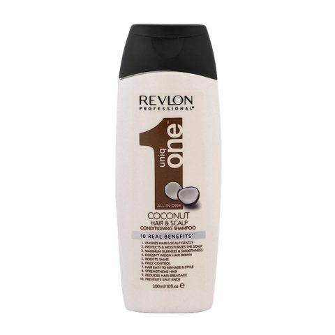 Uniq One Coconut Hair and scalp Conditioning shampoo 300ml - sulfate free