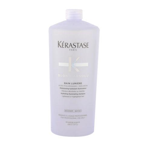 Kerastase Blond Absolu Bain lumiere 1000ml - illuminating shampoo blonde hair