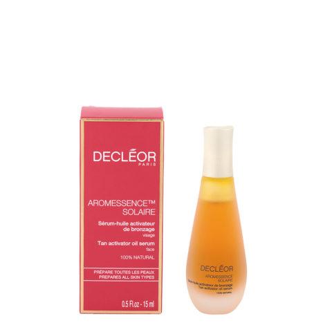 Decléor Aromessence Solaire Sérum huile Activateur de bronzage 15ml - tan activator oil serum