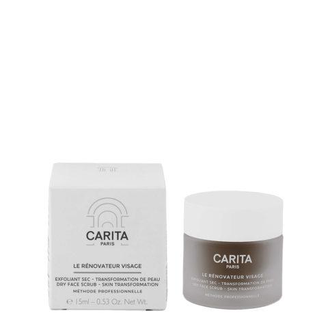 Carita Le Rénovateur Visage dry face scrub 15ml