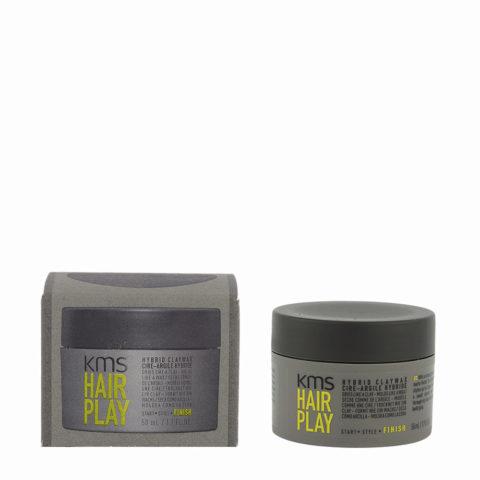 KMS Hair Play Hybrid Claywax 50ml - Hard Matt Hair Wax