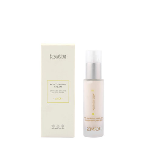 Naturalmente Breathe Moisturizing Cream 50ml - Hydrating Face Cream For Dry Skin