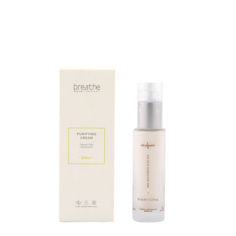 Naturalmente Breathe Purifying Cream 50ml - Hydrating Face Cream