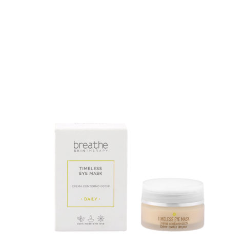 Naturalmente Breathe Timeless Eye Mask 15ml - Hydrating anti-aging Eye Cream