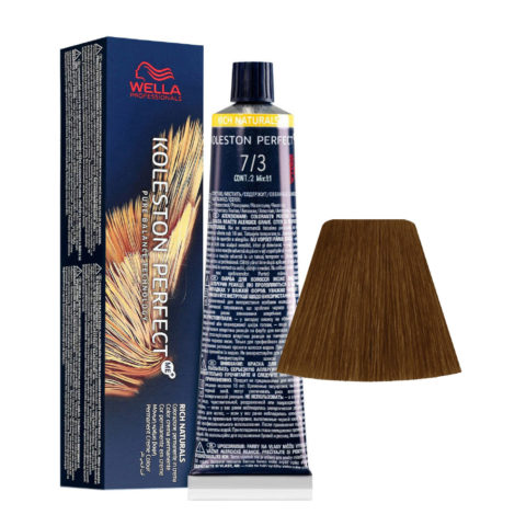 7/3 Medium Blonde Gold Wella Koleston perfect Me+ Rich Naturals 60ml