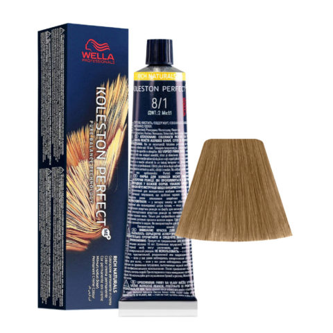 8/1 Light Blonde Ash Wella Koleston perfect Me+ Rich Naturals 60ml