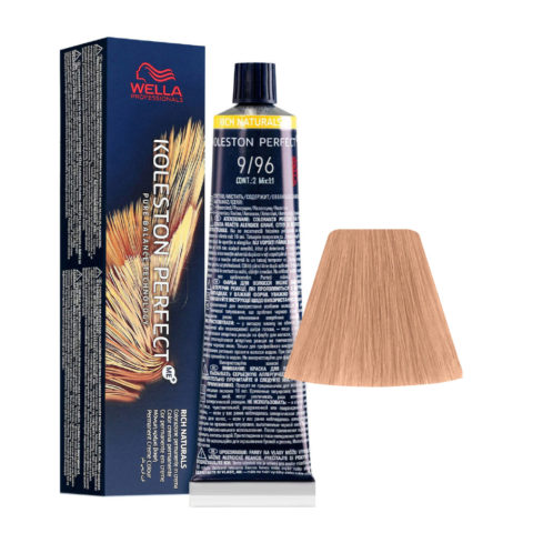 9/96 Very Light Blonde Cendre Violet Wella Koleston perfect Me+ Rich Naturals 60ml