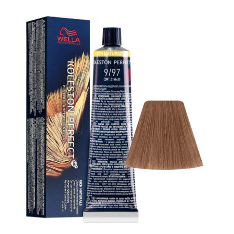9/97 Very Light Blonde Cendre Brown Wella Koleston perfect Me+ Rich Naturals 60ml