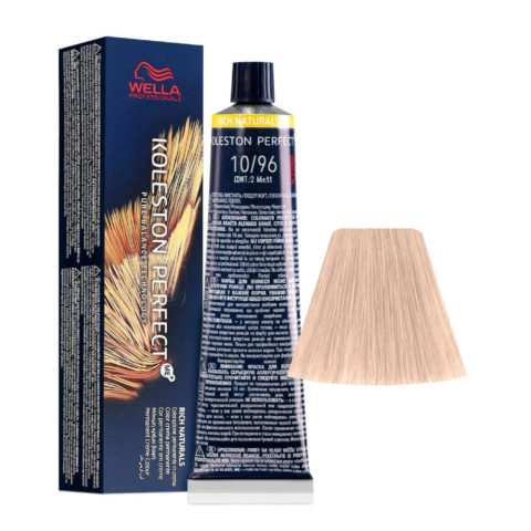 10/96 Lightest Blonde Cendre Violet Wella Koleston perfect Me+ Rich Naturals 60ml