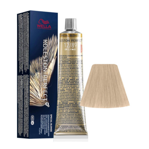 12/89 Special Blonde Pearl Cendre Wella Koleston perfect Me+ Special Blondes 60ml