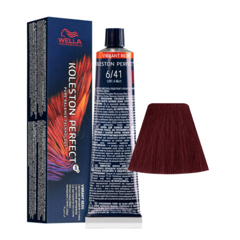 6/41 Dark Blonde Red Ash Wella Koleston perfect Me+ Vibrant Reds 60ml