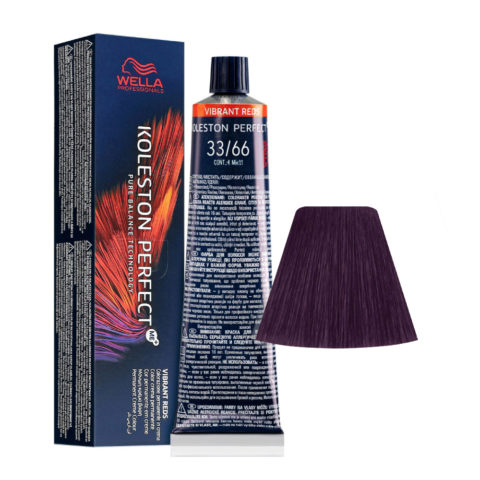 33/66 Dark Brown Intensive Violet Intensive Wella Koleston perfect Me+ Vibrant Reds 60ml