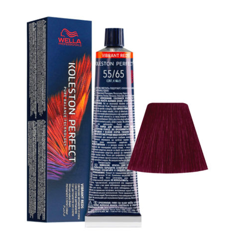 55/65 Light Brown Intensive Violet Mahogany Wella Koleston perfect Me+ Vibrant Reds 60ml