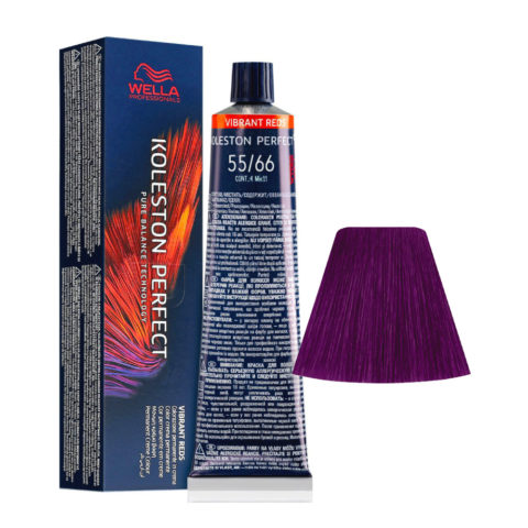 55/66 Light Brown Intensive Violet Intensive Wella Koleston perfect Me+ Vibrant Reds 60ml
