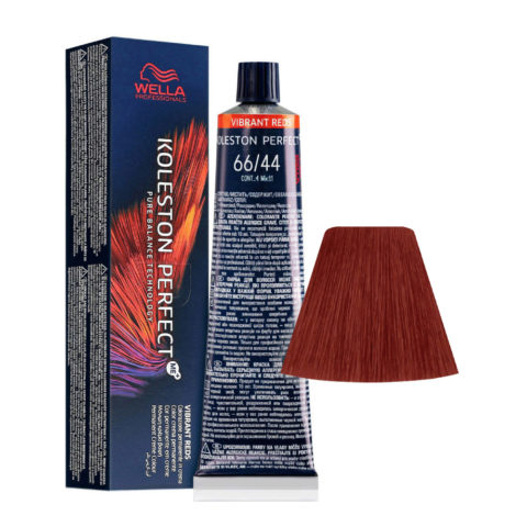 66/44 Dark Blonde Intensive Red Intensive Wella Koleston perfect Me+ Vibrant Reds 60ml