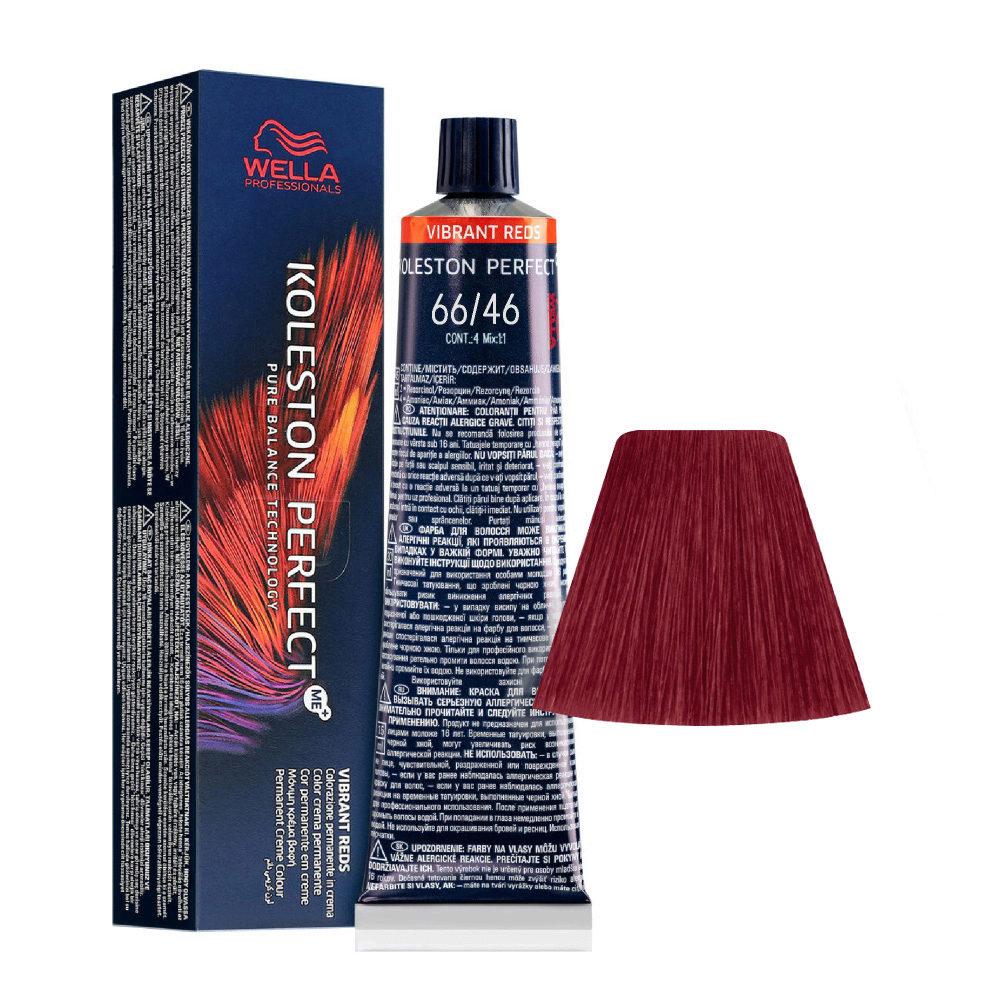 66/46 Dark Blonde Intensive Red Violet Wella Koleston perfect Me+ Vibrant Reds 60ml