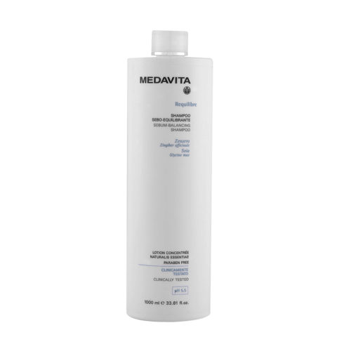 Medavita Cute Requilibre Sebum-balancing shampoo pH 5.5  1000ml