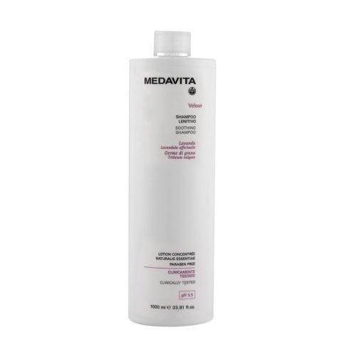 Medavita Cute Velour Soothing shampoo pH 5.5  1000ml
