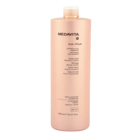 Medavita Lunghezze Huile d'etoile Captivating oils shampoo pH 5.5  1250ml
