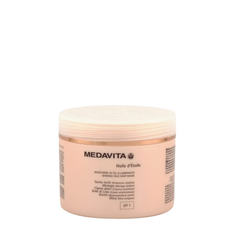 Medavita Lunghezze Huile d'etoile Shining oils hair mask pH 3  500ml