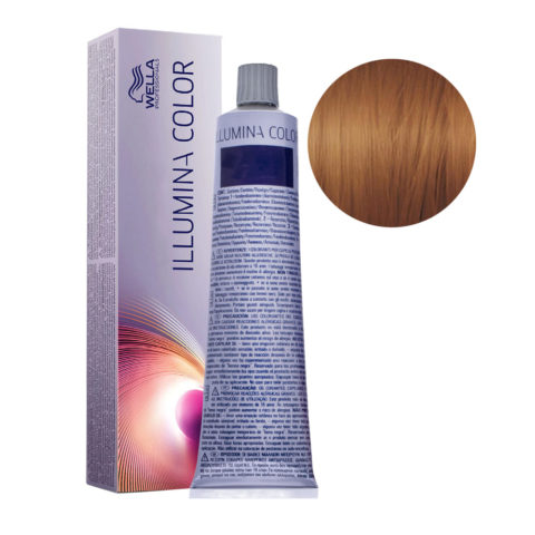 7/35 Medium Gold Mahogany Blonde Wella Illumina Color 60ml