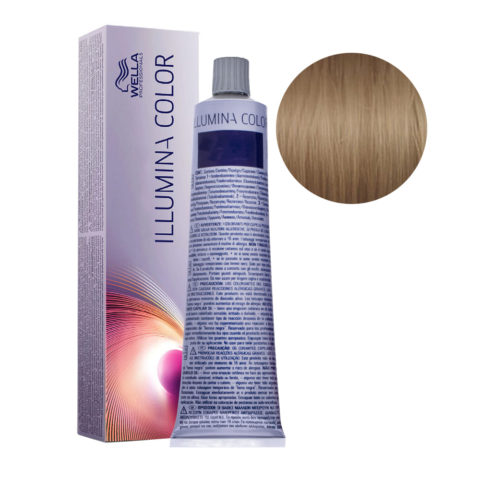 7/31 Medium Gold Ash Blonde Wella Illumina Color 60ml