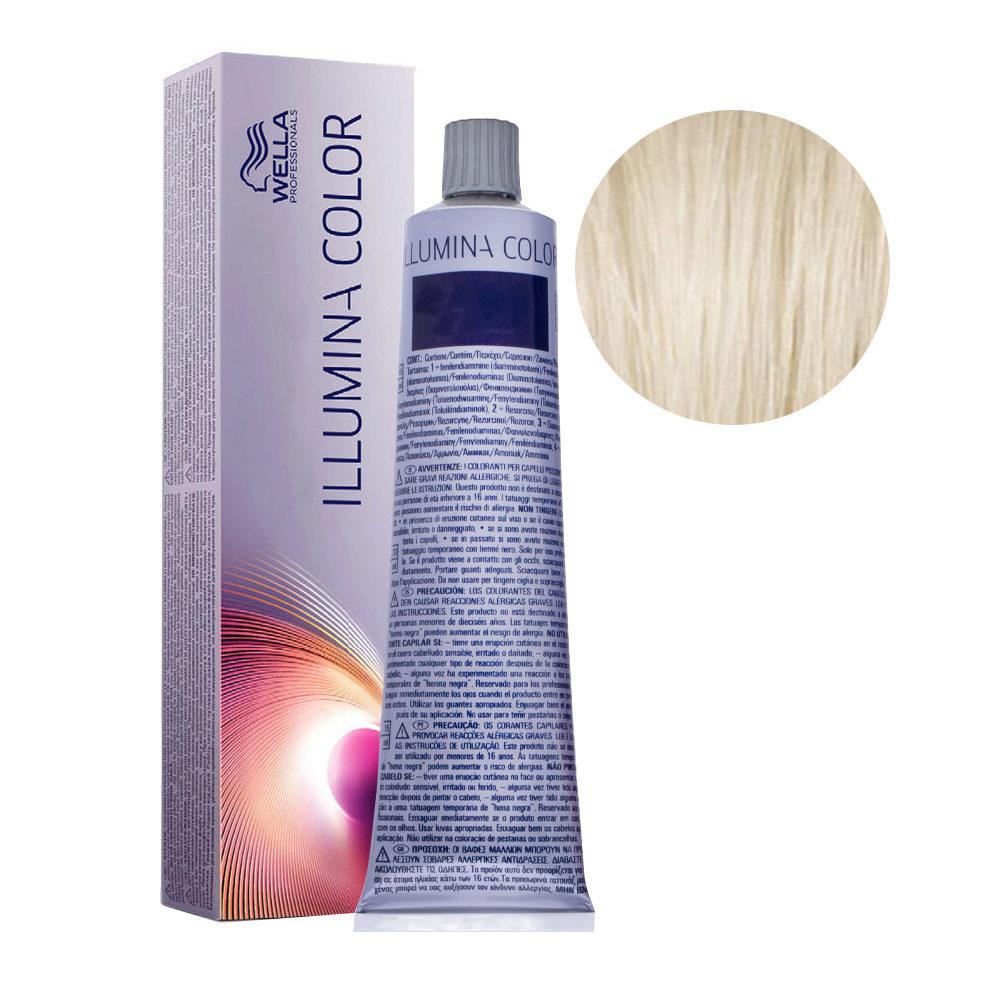 10/1 Lightest Blonde Ash Wella Illumina Color 60ml
