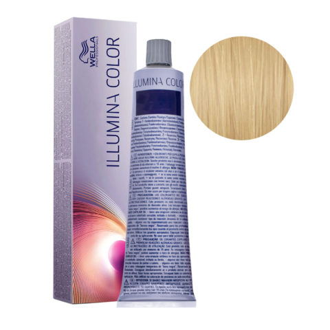 10/36 Lightest Gold Violet Blonde Wella Illumina Color 60ml