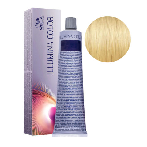 10/38 Lightest Gold Pearl Blonde Wella Illumina Color 60ml