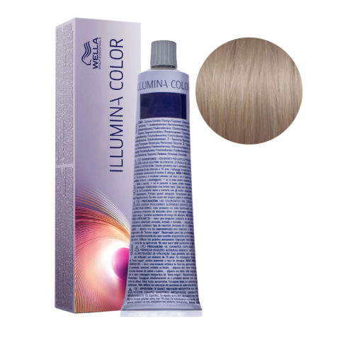 8/13 Light Gold Ash Blonde Wella Illumina Color 60ml