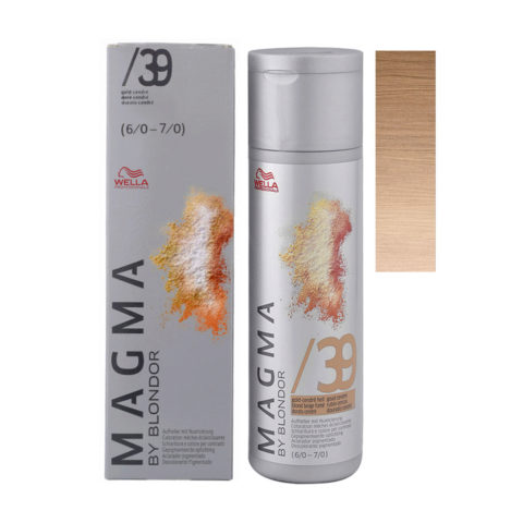 /39 Gold cendre light Wella Magma 120gr
