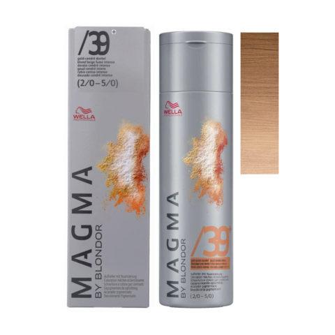 /39+ Gold cendre dark Wella Magma 120gr