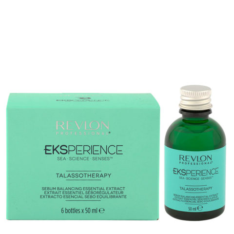 Eksperience Talassotherapy Serum Balancing Essential Extract 6x50ml - For Oily Scalp