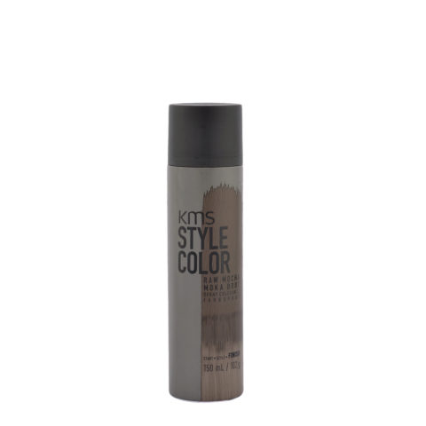 KMS Style Color Raw Mocha 150ml - Hair Colour Spray Koffee