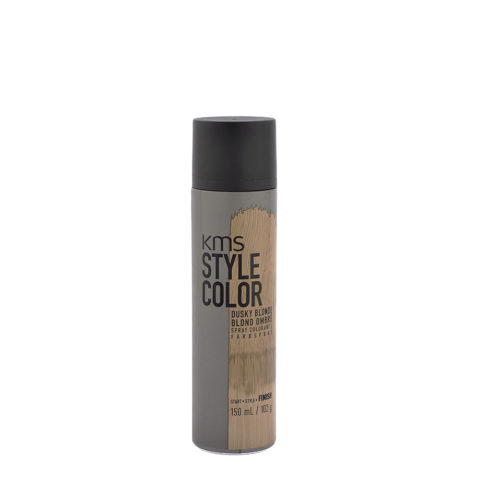 KMS Style Color Dusky blonde 150ml - Hair Colour Spray Dark Blonde