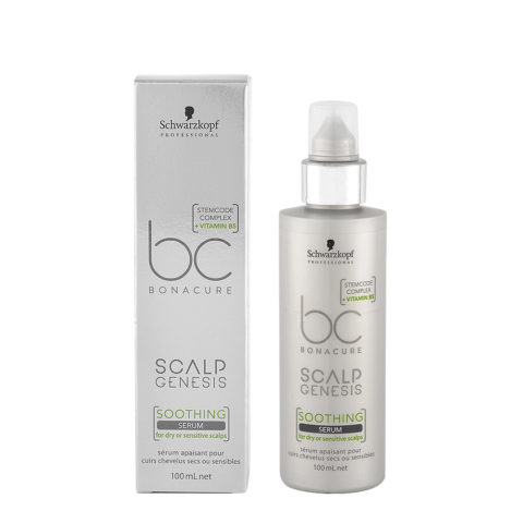 Schwarzkopf BC Bonacure Scalp Genesis Soothing Serum 100ml - For Dry And Sensitive Scalp