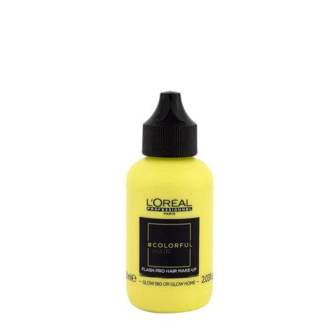 L'oreal Colorful hair Flash Glow Big or Glow Home 60ml - hair make up
