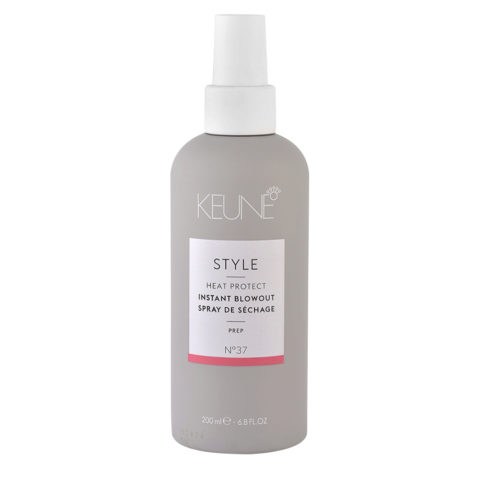 Keune Style Heat protect Instant Blowout N.37, 200ml - heat protection spray