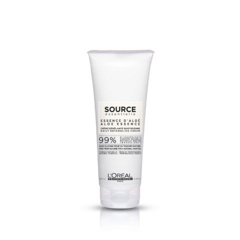 L'Oréal Source Essentielle Aloe essence Daily detangling cream 200ml - detangling balm