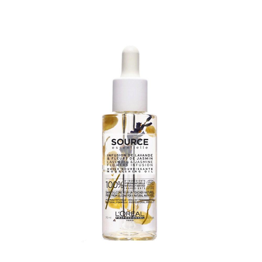 L'Oréal Source Essentielle Lavender & jasmine flowers infusion Nourishing oil 70ml