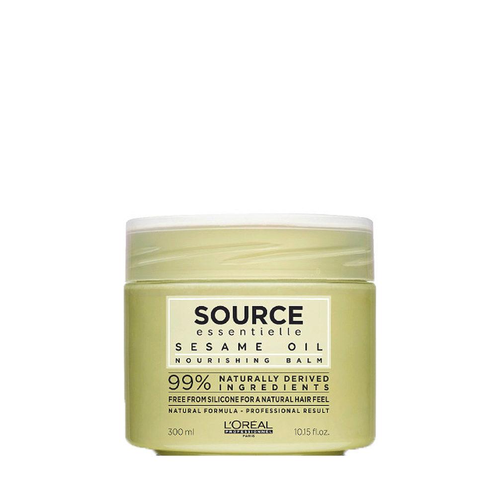 L'Oréal Source Essentielle Sesame oil Nourishing balm 250ml - oil nourishing balm