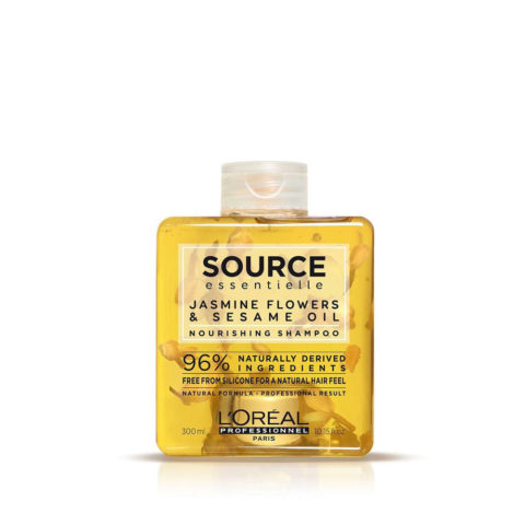 L'Oréal Source Essentielle Jasmine flowers & sesame oil Nourishing Shampoo 300ml