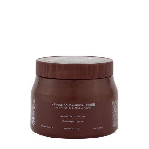Kerastase Aura botanica Masque fondamental riche 500ml - hydrating mask for dry hair