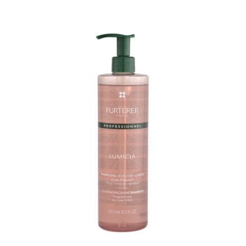René Furterer Lumicia Illuminating Shine Shampoo 600ml - shampoo with shine detector