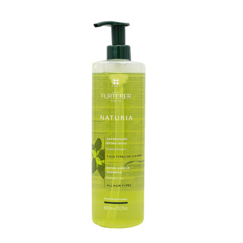 René Furterer Naturia Extra Gentle Shampoo 600ml - Frequent Use All Hair Types