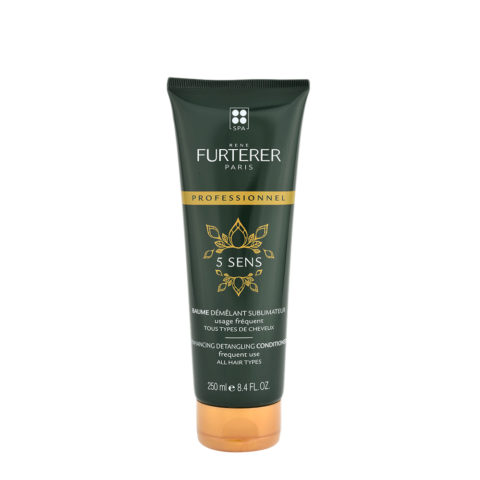 René Furterer 5 Sens Enhancing Detangling Conditioner 250ml - frequent use all hair types