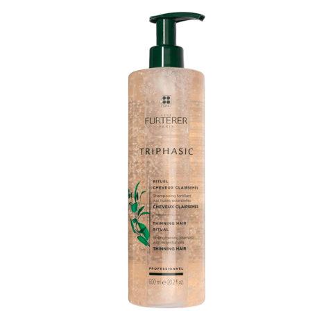 René Furterer Triphasic shampoo 600ml - Stimulating shampoo