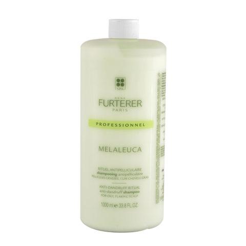 René Furterer Melaleuca Antidandruff Shampoo 1000ml - For Dry Flaking Scalp
